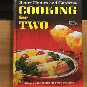 Cooking for Two Cookbook vintage Better Homes